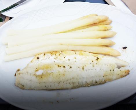 SPargel-Fisch